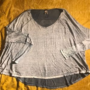 Free people casual long sleeve top size small